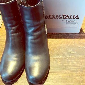 Aquatalia Wedge Booties